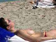 Candid Real Beach Titties